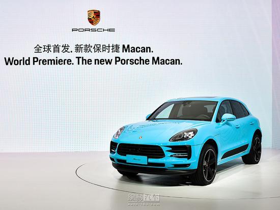 售55.80万起 保时捷新款Macan全球首发