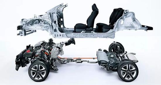 BMA的特点主要体现在以下几个方面: 1、多级别、多类型车型开发:BMA模块化架构具有高度灵活的可扩展性,可适用于A0至A+级,涵盖SUV、轿车、CROSS车型、以及wagon和MPV等多种车型;轴距拓展范围25502700mm,轮距拓展范围15001600mm,车长、车宽也可以根据造型需求进行相应的调整。  2、极致的空间利用率:BMA在车内空间利用率方面更有独特的优势,能够在车长不变的前提下,通过一系列手段,实现领先的车内空间利用率,通过动力总成、悬挂系统、座椅高度、人机工程、零部件布置的优化,