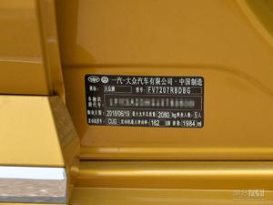 大众CC 2019款 380TSI DSG曜颜型