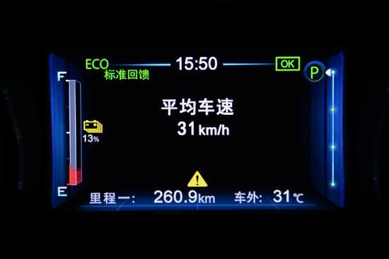 不用担忧 测试比亚迪元EV360智联创酷型