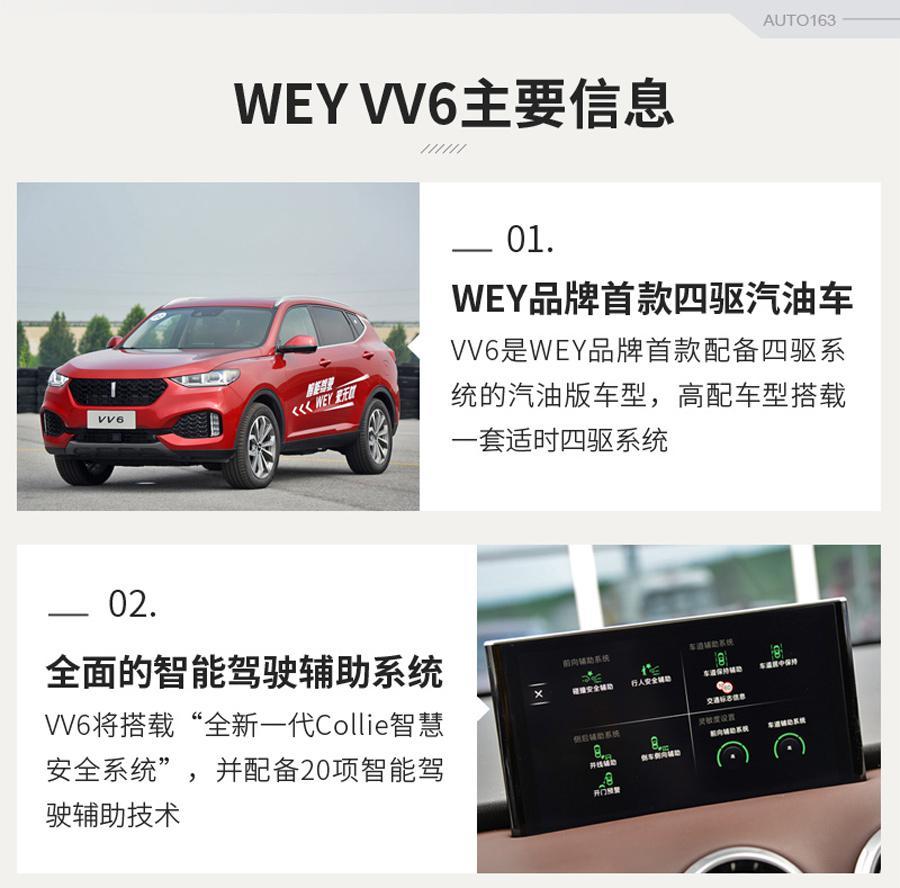 四驱应该有!网易试驾WEY VV6四驱版