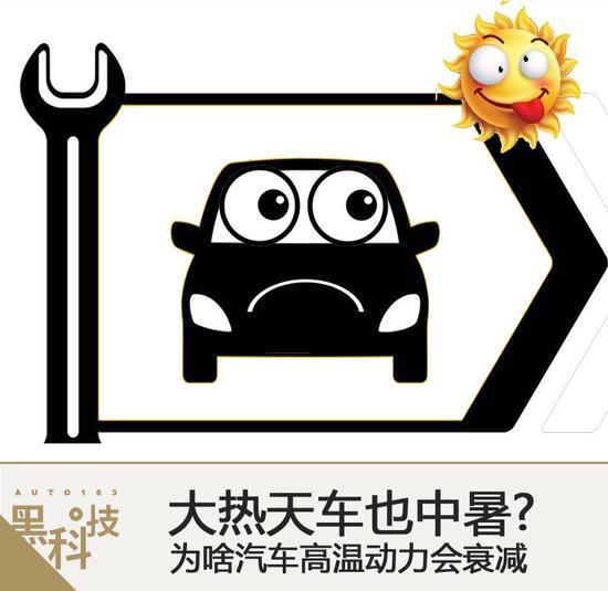 大热天车也中暑? 为啥汽车高温动力衰减