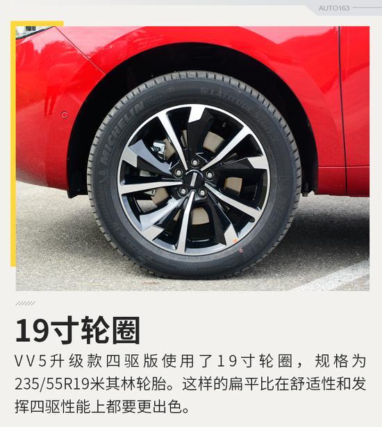 限量500台 VV5升级款两驱旗舰版开启预售