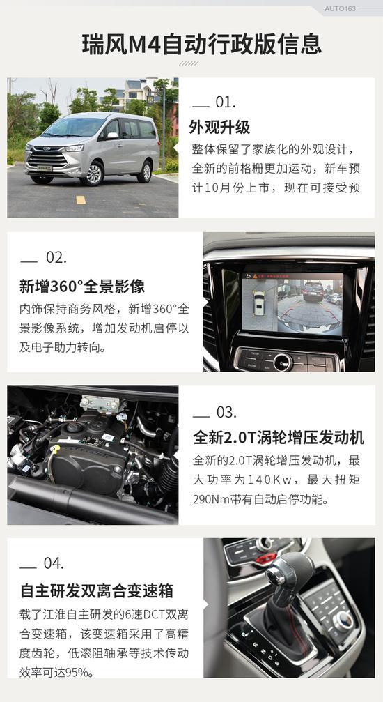 江淮M4自动挡行政版试驾