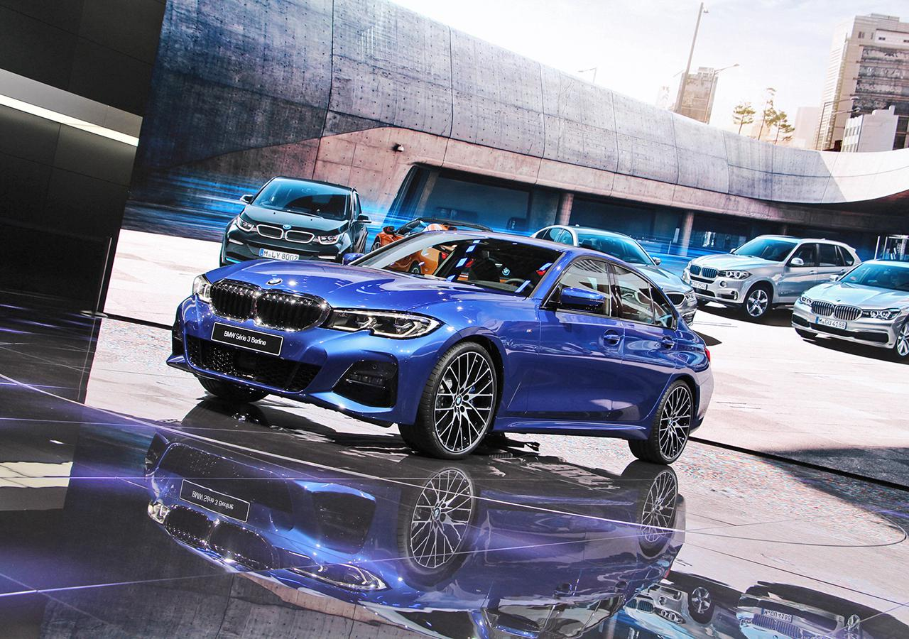 万众瞩目 巴黎车展体验全新BMW 3系