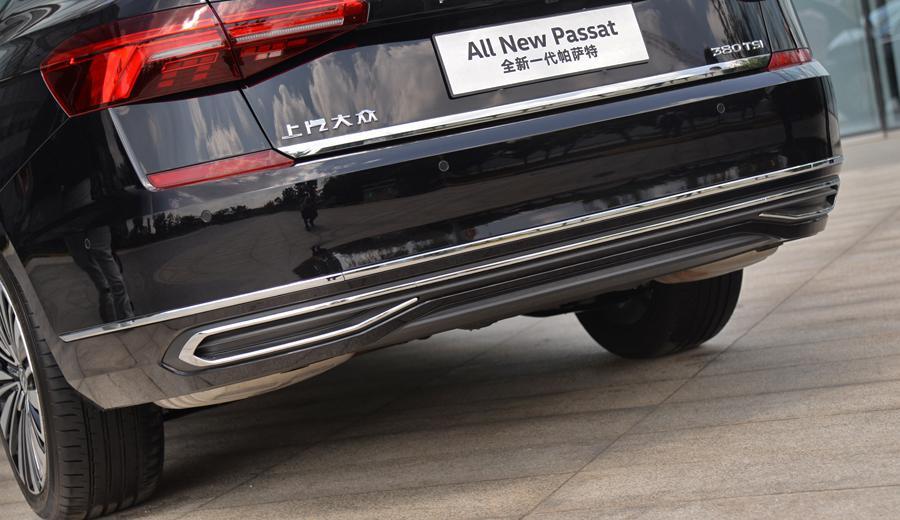 重树标杆 实拍体验上汽大众全新帕萨特