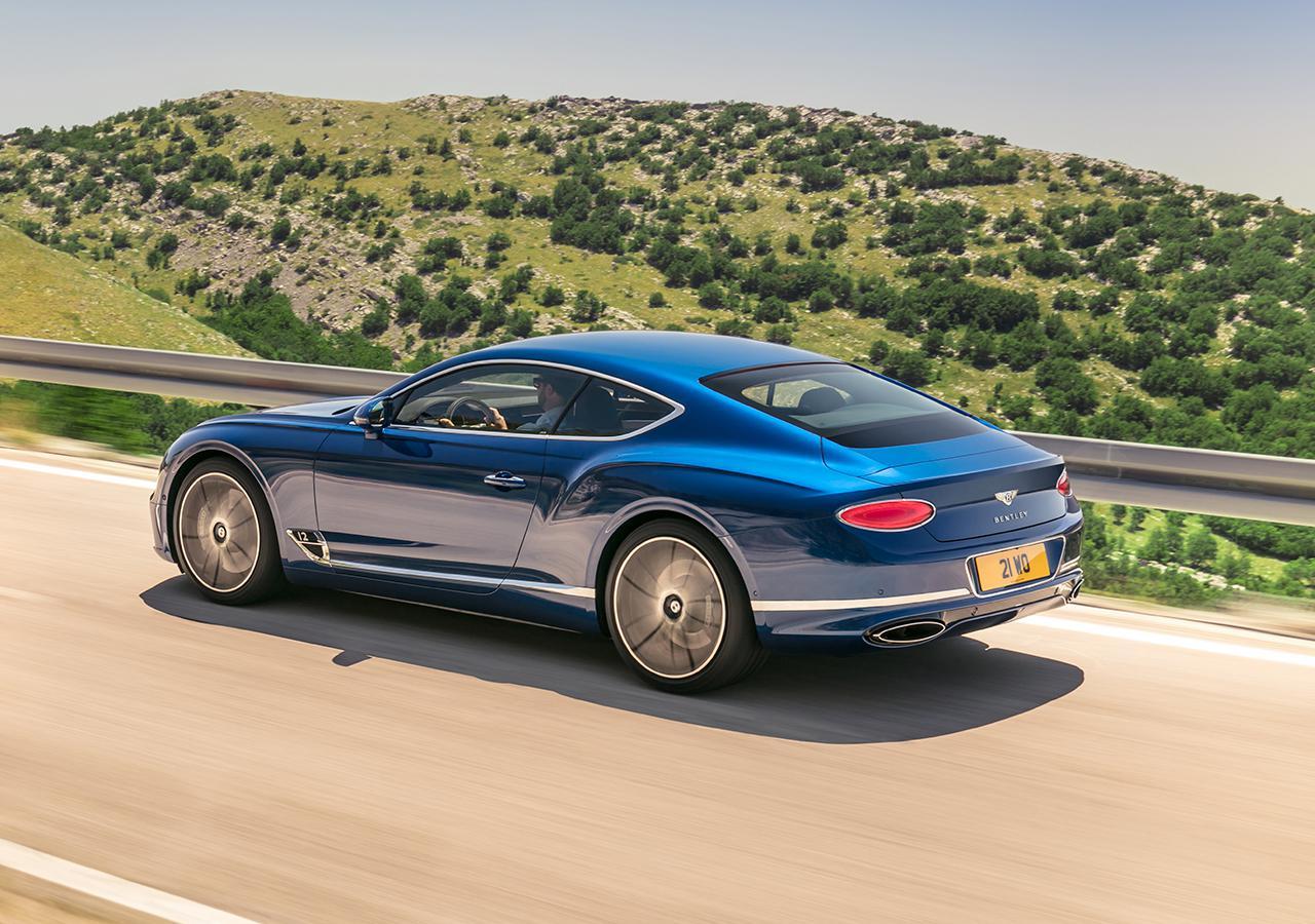 正宗GT驾临 体验宾利全新—代欧陆GT