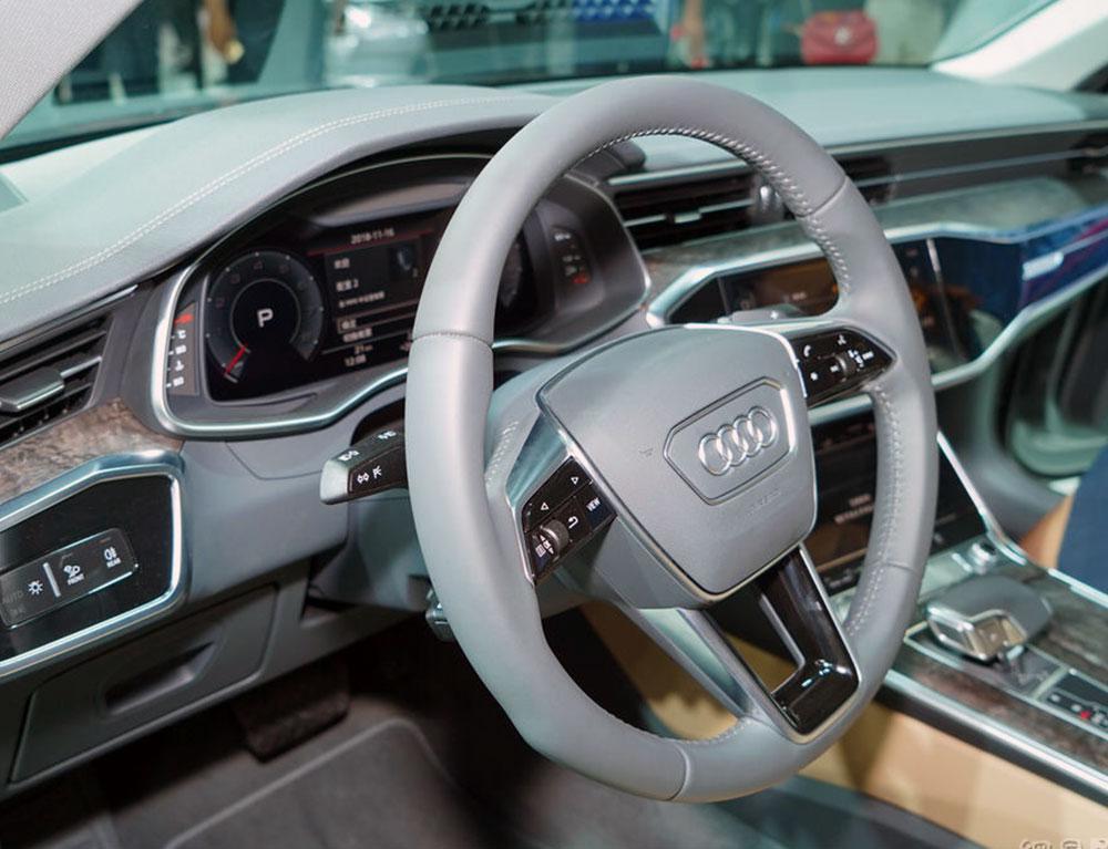 逆向进化 车展实拍全新一代奥迪A6L