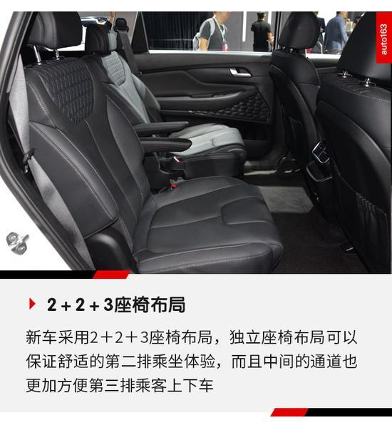 硬朗造型更显前卫 广州车展实拍全新胜达