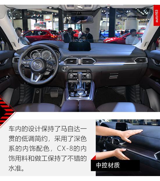 空间颠覆认知 车展实拍长安马自达CX-8