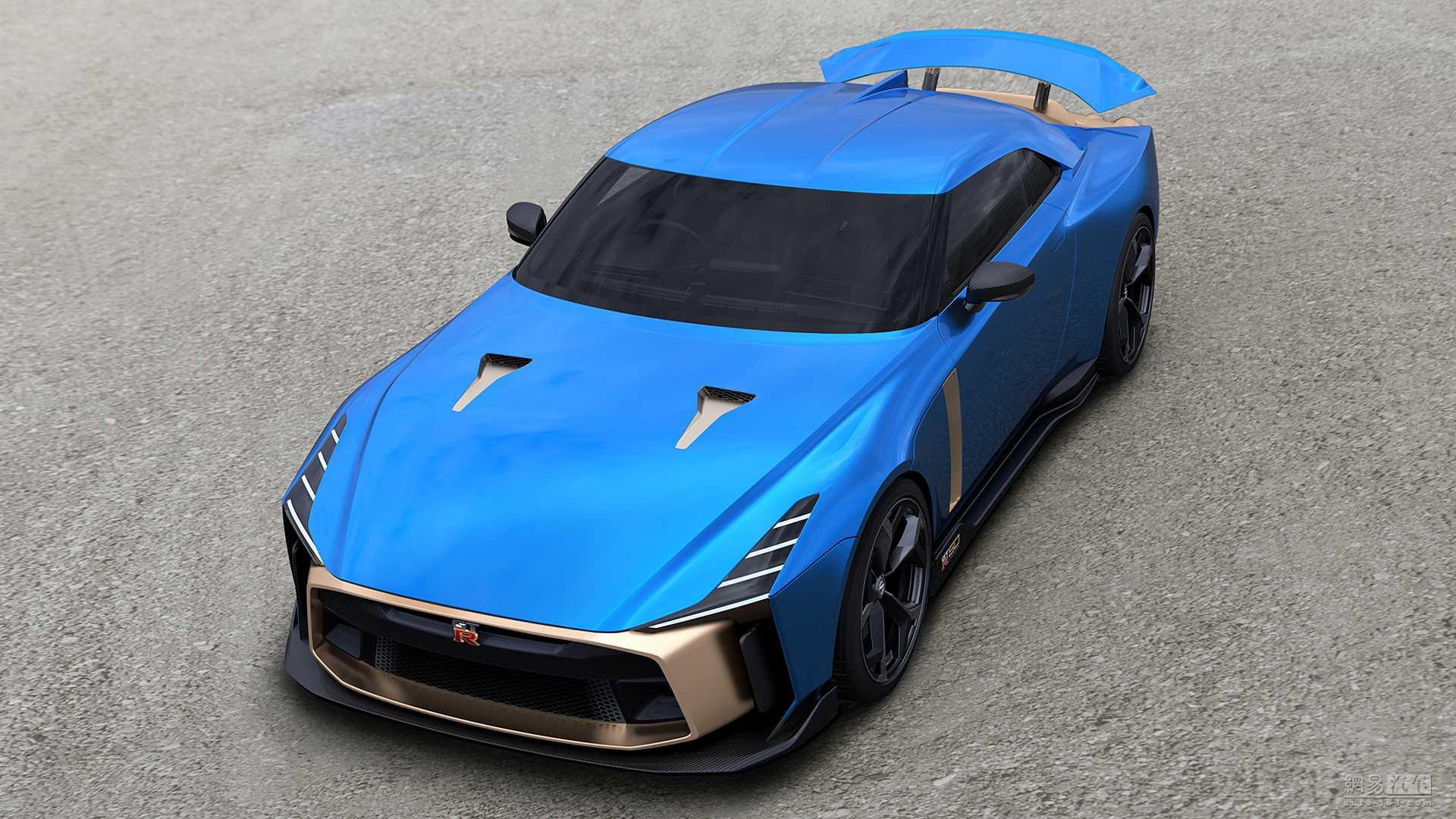 99万欧元 日产GT-R50量产版官图