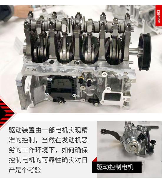 能文能武身怀绝技 拆日产VC-Turbo发动机