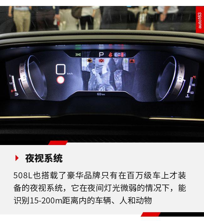 科技也同样是卖点 东风标致508L配置解读