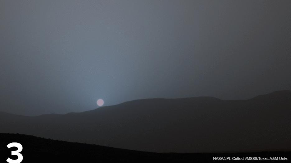 好奇号登陆火星都拍了哪些令人着迷的图片 - 长天秋水2 - 长天秋水 的博客