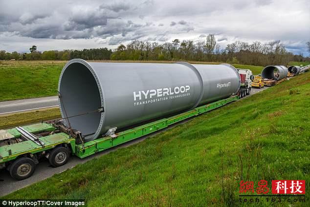 超级高铁HHT欧洲测试轨道开建 预计今年投入使用
