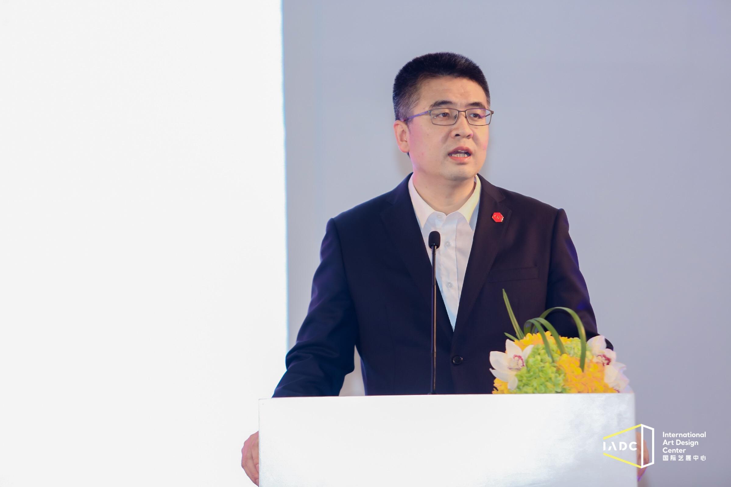 中国对外贸易广州展览总公司总经理刘晓敏致辞