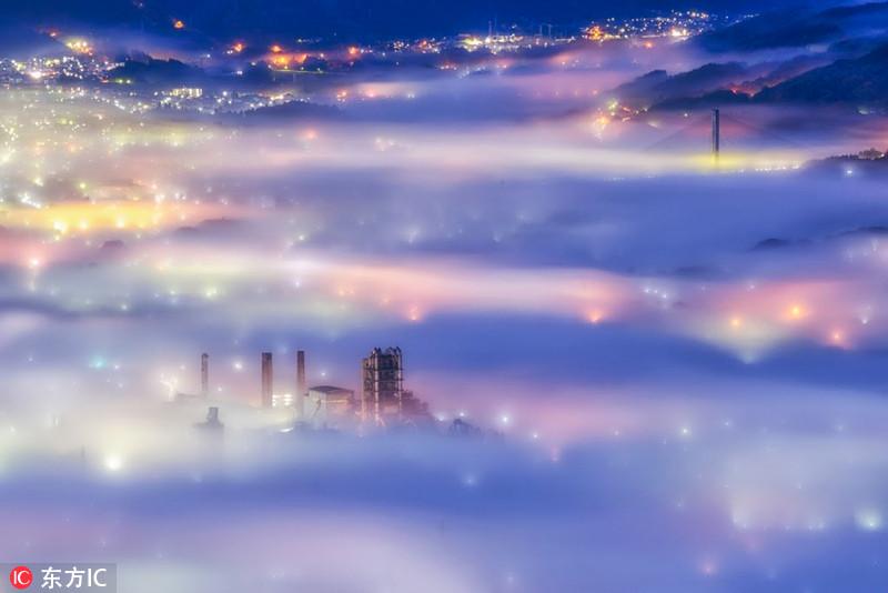 在晨雾中看迪拜 - 长天秋水2 - 长天秋水 的博客