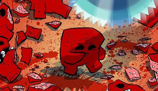 你那么爱玩《超级食肉男孩》,一定有自虐倾向吧?