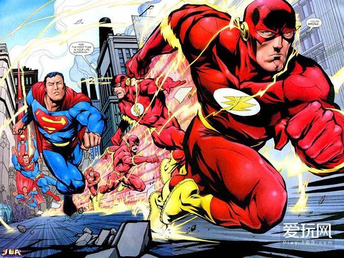 07:超人与闪电侠赛跑曾经是美漫在白银时代的象征之一