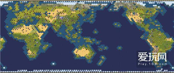 3.《文明6》世界地图模式地图