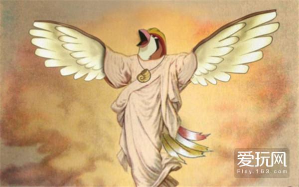 11.鸟之耶稣带领我们前进,给我们救赎,它是神行走于地上的使者