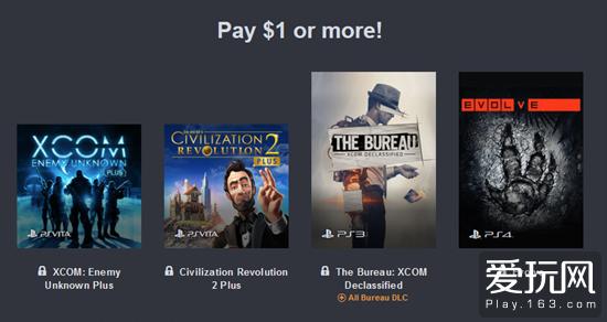 爱玩也爱买:CAPCOM发行商周末 2K游戏慈善包