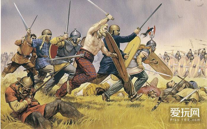 9.凯尔特蛮子最开始还能蹂躏罗马人,后来就是被追着打了