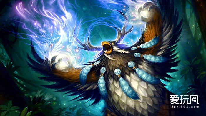 17.《魔兽世界》拓展了德鲁伊的动物形态,创造了千奇百怪的动物化身
