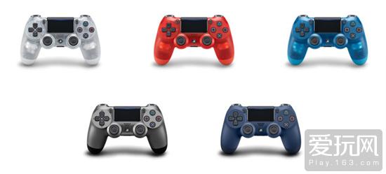 国行PS4手柄再添新色 钢铁黑午夜蓝10月11日上市