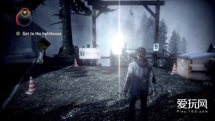17.《心灵杀手》有一个提示,跟着光走,光就是路径点