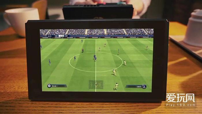 在E3游戏展时亮相的FIFA18,如果不放大的话,还算可以