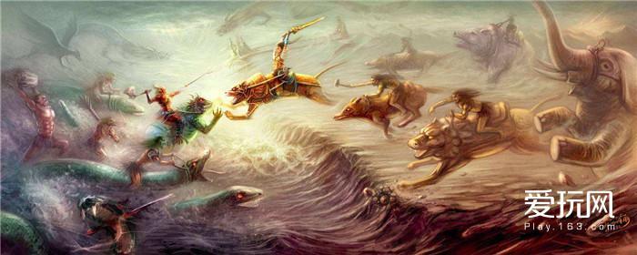 图十五,涿鹿之战已染上神话色彩,但指南车却是可信的