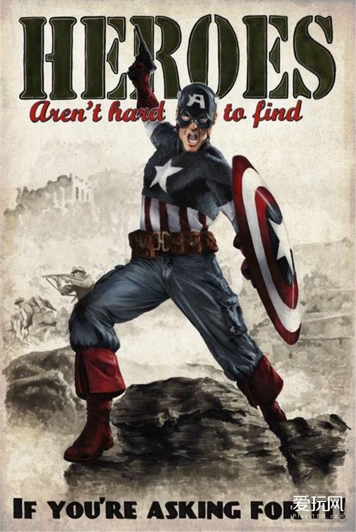09:当年怒刷纳粹的美国队长后来成为了漫威的政治风向标