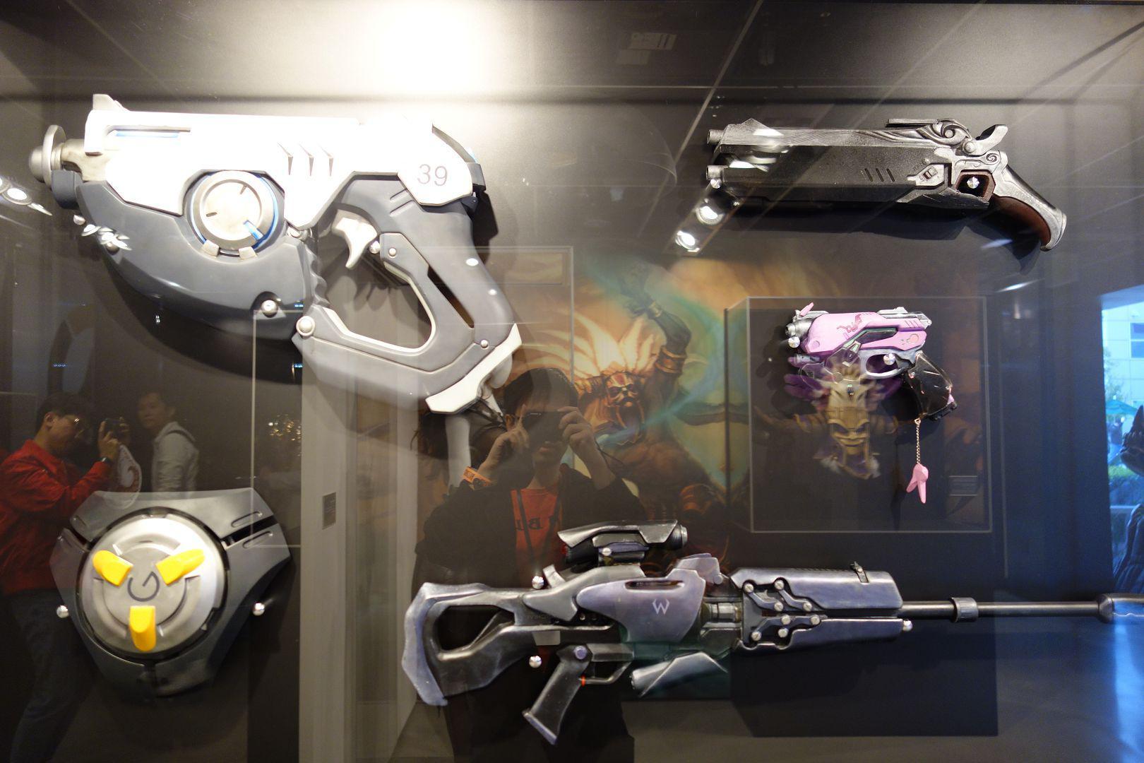 各种守望英雄的武器