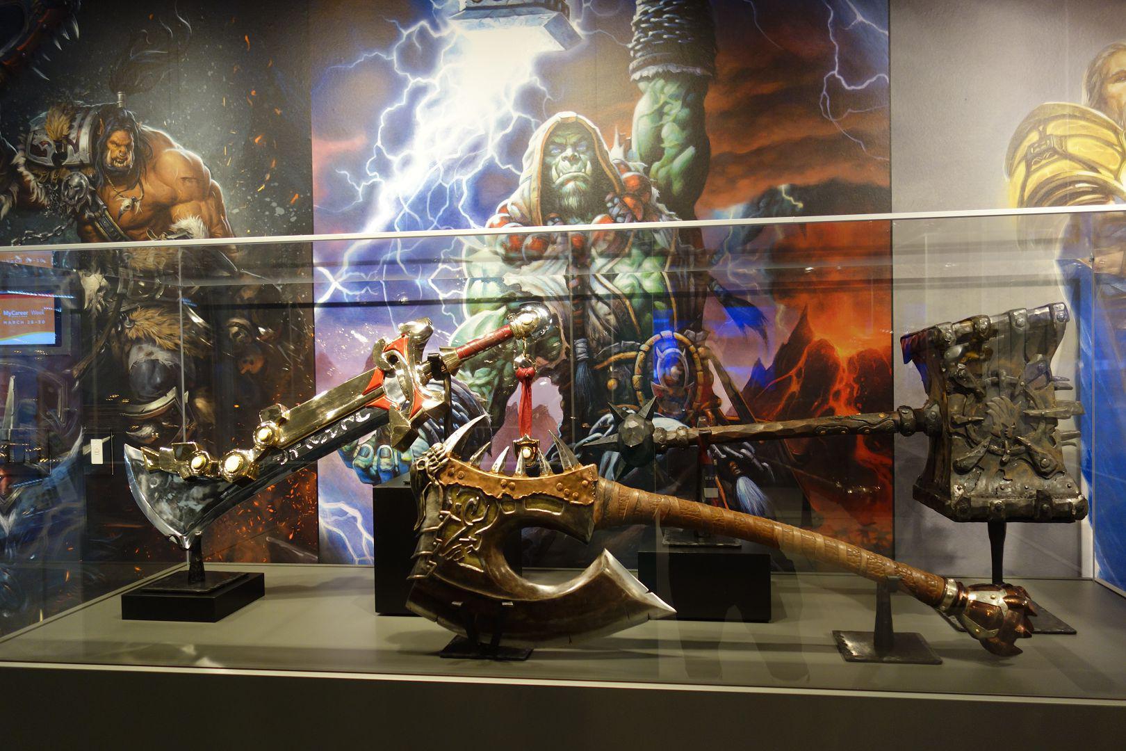 魔兽人物的武器