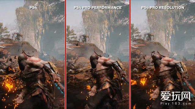 需要为了《战神》买PS4 Pro吗?来看看对比视频