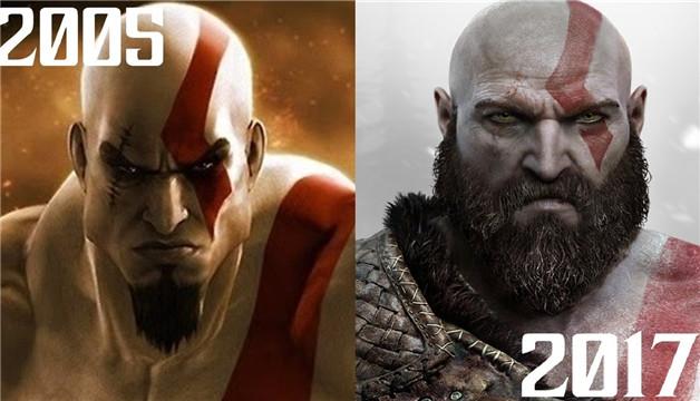 两位性格迥异的战神主创:造就了两个不同的奎托斯