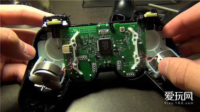 17.握把处的两个电机就是振动电机