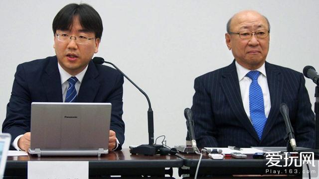 任天堂宣布下任社长为古川俊太郎(左侧)
