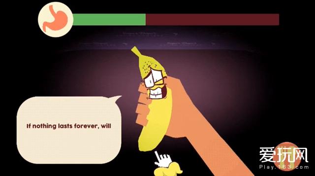 在这款恋爱游戏里,你的手和香蕉结婚了
