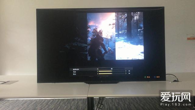 显示设备支持HDR时,在游戏设定中可以开关HDR选项