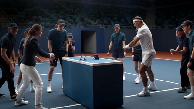 纳达尔大战马力欧!《马力欧网球ACE》推新广告
