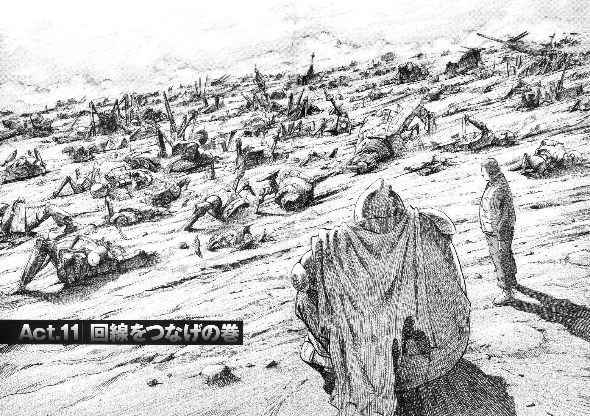12:奉人类政府的命令,在战场上杀死自己的同类,是七名机器人共同经历的战争创伤