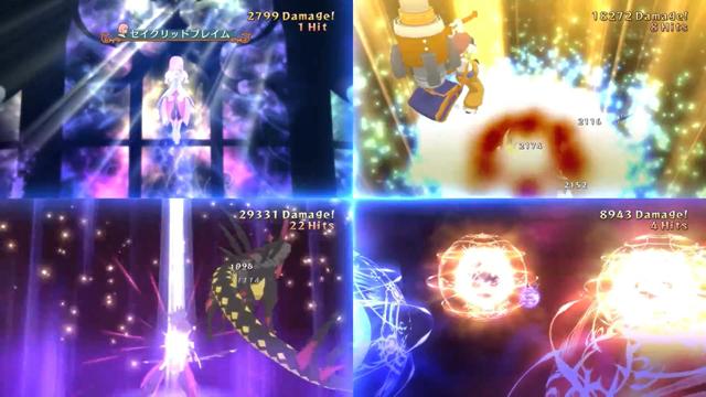 战斗和剧情并重是传说系列的特色之一