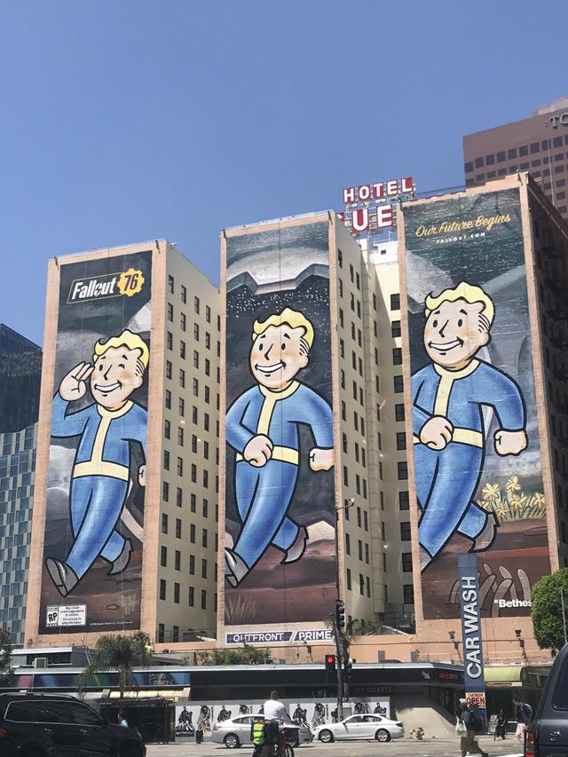 《辐射76》的巨幅海报已经是E3一景