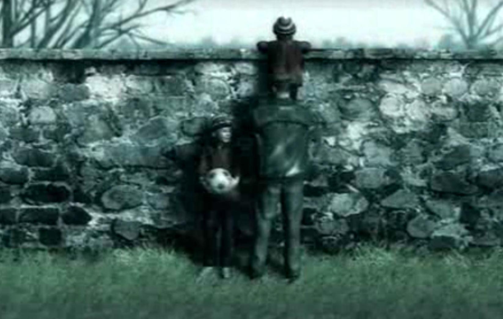 16:当时玩家认同这个骑在父亲身上的小男孩,惊叹于眼前亦真亦幻的场面