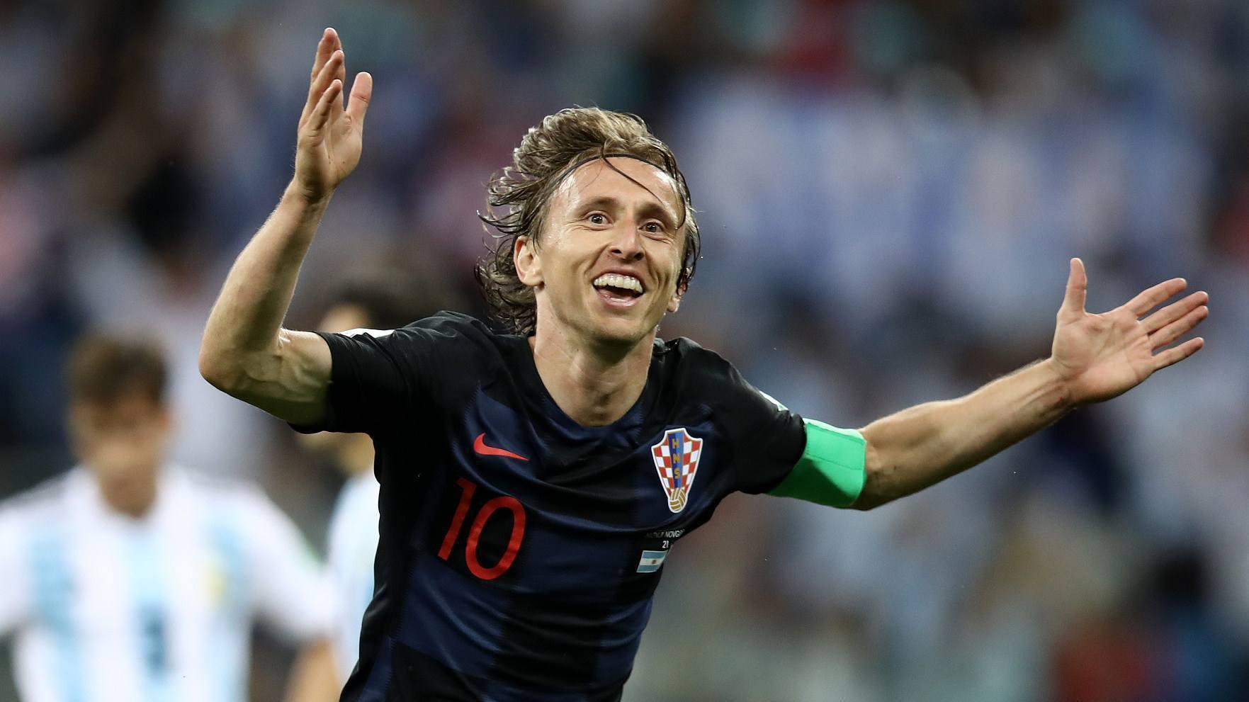 6.如今已是克罗地亚国家队队长的卢卡·莫德里奇