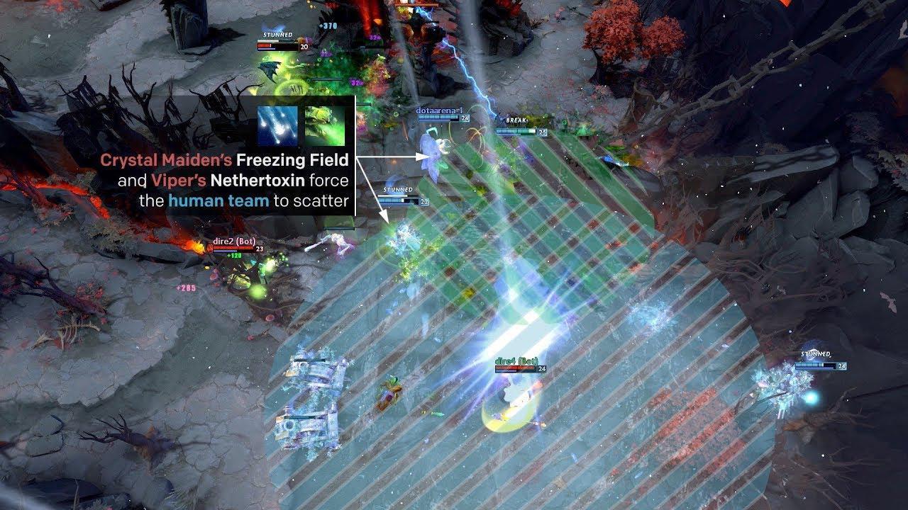7.AI在游戏中打的极具进攻性