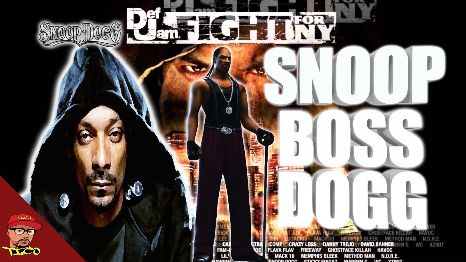 说唱大佬Snoop Dogg