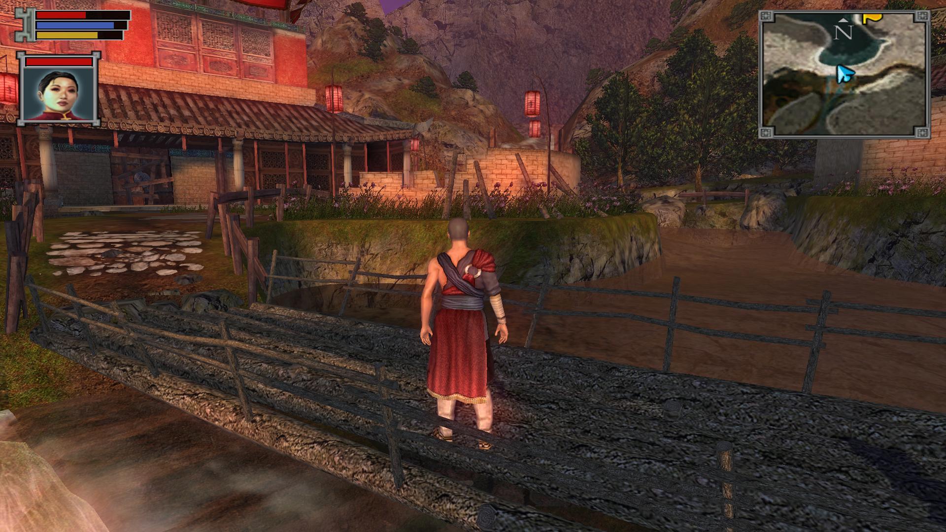 """有板有眼的古建筑,配上""""小桥流水人家""""的风景,在游戏环境构建上很好"""